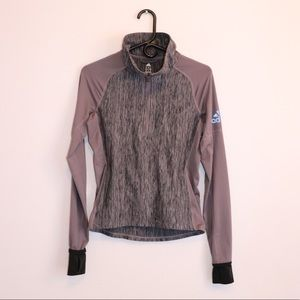 Adidas Quarter Zip Track Jacket